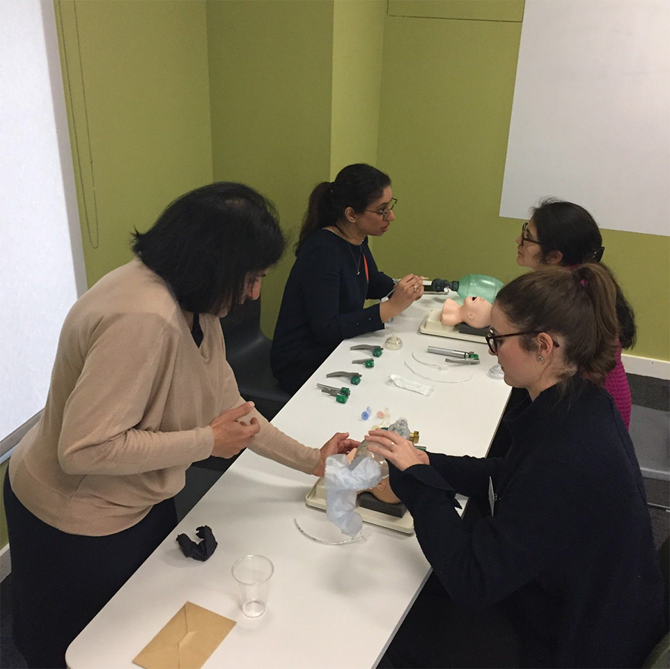 Paediatric Conference table demo