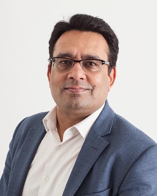 Dr Atul Gupta Portrait